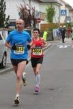 Maratón Deutsche Weinstrasse Imágenes de archivo libres de regalías