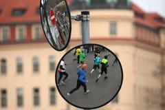 Maratón en Praga, República Checa imágenes de archivo libres de regalías