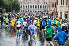 Maratón en Roma Imagenes de archivo