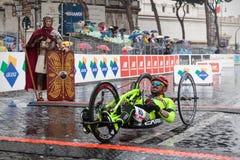 Maratón en Roma Fotografía de archivo