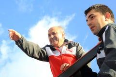 Maratón intercontinental de Estambul Eurasia Fotografía de archivo