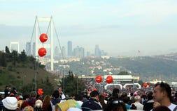 Maratón intercontinental de Estambul Eurasia Imagenes de archivo