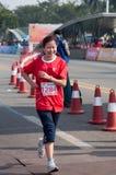 Maratón internacional 2011 de Zhuhai el medio Imagen de archivo