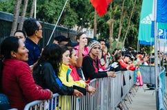 Maratón Lima 42k imagen de archivo libre de regalías