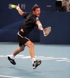 Marat Safin (RUS), tennisspeler Stock Foto's