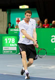 Marat Safin at Zurich Open 2012 Stock Photography