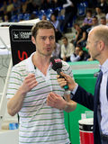 Marat Safin at Zurich Open 2012 Royalty Free Stock Photo
