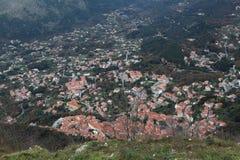Maratea aerial view Stock Images