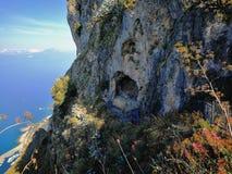 Maratea - la caverna del ` s di angelo fotografie stock