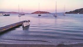 Marathi Dodecanese öar Royaltyfria Bilder