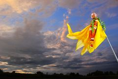 Marathi-neues Jahr Gudi Padwa lizenzfreies stockfoto