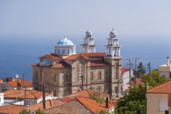 Marathokampos auf Samos Stockfotos