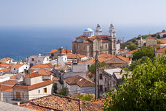Marathokampos on Samos Royalty Free Stock Photography