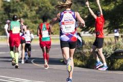 Marathon南非同志 库存照片