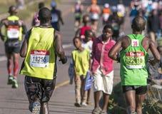 Marathon南非同志 免版税图库摄影