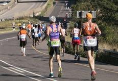 Marathon南非同志 免版税库存照片