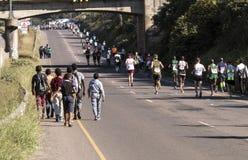 Marathon南非同志 免版税库存图片