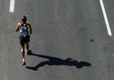 marathon同志2010年 库存图片