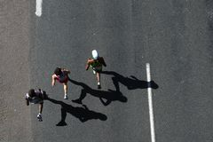 marathon同志2010年 库存照片