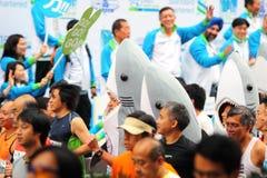 marathon 2009 de Hong Kong Photographie stock libre de droits