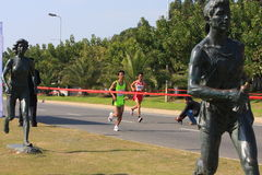Marathon 2009 de Xiamen Images stock