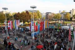 Marathon 2010 de Francfort Images libres de droits