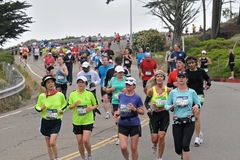 Marathon 2010 de San Francisco Image libre de droits