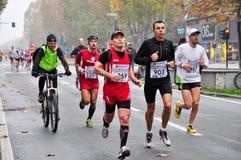 Marathon 2010 de Turin Image libre de droits