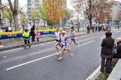 Marathon 2010, Khavlin Igor, Russie de Turin. Images stock