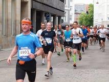 Marathon 2011 de Copenhague Photos stock