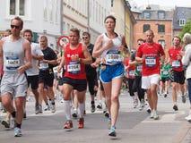 Marathon 2011 de Copenhague Photo libre de droits