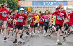 Marathon 2011 y-Ottawa Lizenzfreies Stockfoto