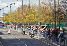 Marathon 2012 de Londres de Vierge - Merrien Photos stock