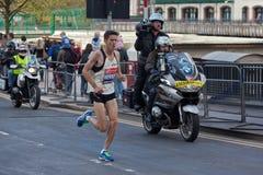 Marathon 2012 de Londres de Vierge - Merrien Photo stock