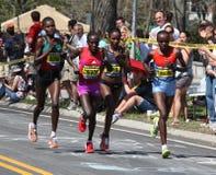 Marathon 2012 de Sharon Cherop Boston Image libre de droits