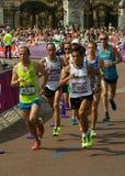 Marathon 2012 olympique Image libre de droits