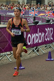 Marathon 2012 olympique Image stock