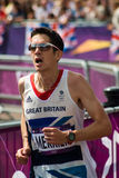 Marathon 2012 olympique Photographie stock