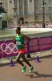 Marathon 2012 olympique Photographie stock libre de droits