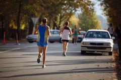 Marathon photographie stock libre de droits