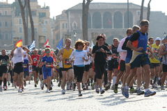 Marathon Photo stock