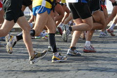 Marathon Stockfotos