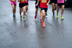 Marathon Photographie stock