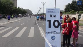 Marathon stock videobeelden