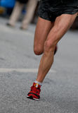 Marathon. Racer at the Hamburg  2006 in germany, europe Royalty Free Stock Images