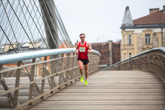 Marathon annuel d'International de Cracovie Image stock