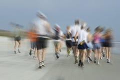 Marathon on the Beach Royalty Free Stock Photography