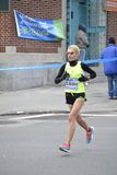 Marathon Claudia Gelsomino Elite Runners NYC Lizenzfreie Stockbilder