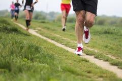 Marathon cross-country running Royalty Free Stock Photography