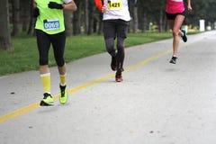 Marathon Cross Country Running Royalty Free Stock Photography